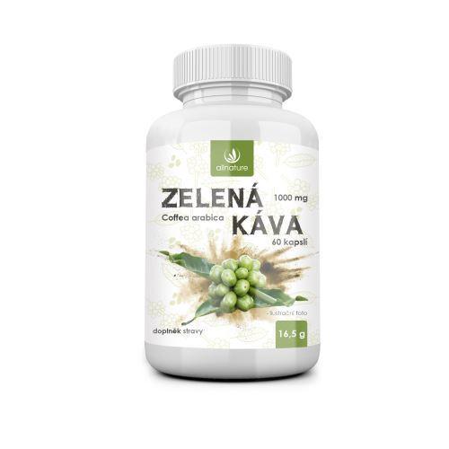 Zobrazit detail výrobku Allnature Zelená káva 1000 mg 60 kapslí