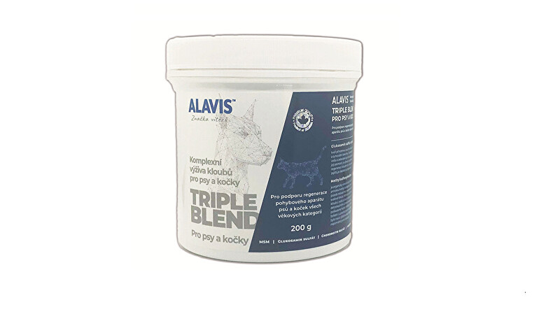 Alavis Alavis Triple Blend pro psy a kočky 200 g