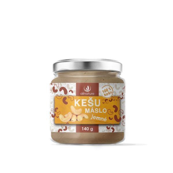 Zobrazit detail výrobku Allnature Kešu máslo jemné 140 g