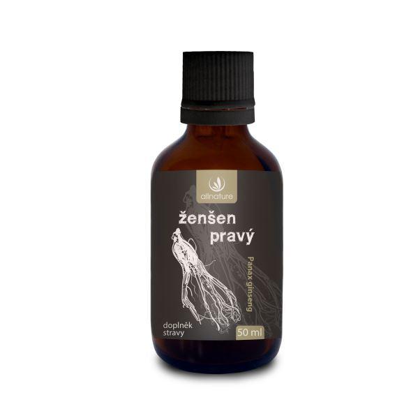 Zobrazit detail výrobku Allnature Ženšen pravý bylinné kapky 50 ml