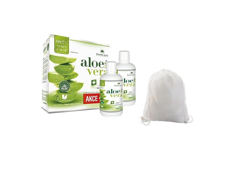Zobrazit detail výrobku Pharma Activ AloeVeraLife 1+1 ZDARMA (1000 ml + 1000 ml) + zdarma batoh