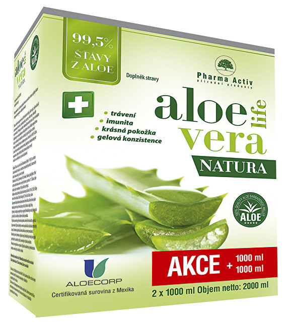 Aloeveralife natura 1000 ml + 1000 ml