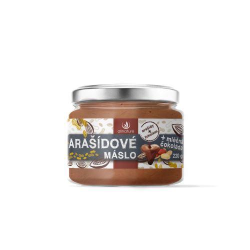 Arašídové máslo s mléčnou čokoládou 220 g