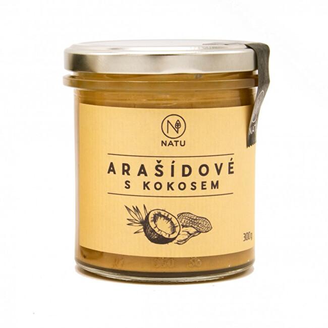Zobrazit detail výrobku Natu Arašídový krém s kokosem 300 g