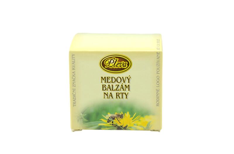 Zobrazit detail výrobku Pleva Medový balzám na rty v kelímku 12 g