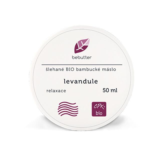 Bebutter Bebutter Šlehané Bio bambucké máslo LEVANDULE 50 ml CPK bio
