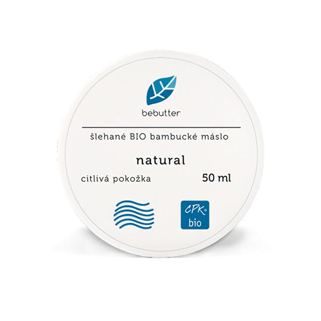 Bebutter Bebutter Šlehané Bio bambucké máslo NATURAL 50 ml CPK bio
