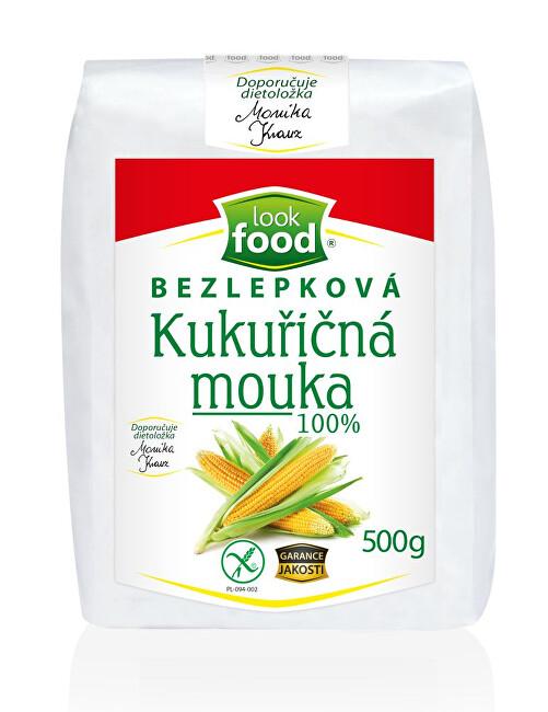 Look food s.r.o Bezlepková kukuřičná mouka 100% 500 g