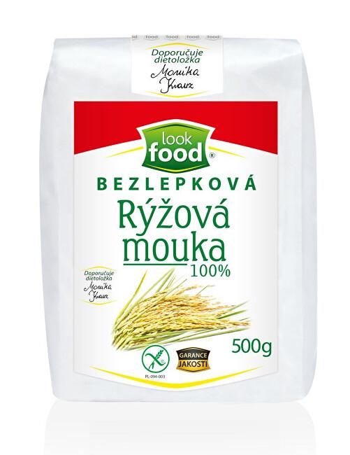 Zobrazit detail výrobku Look food s.r.o Bezlepková rýžová mouka 100% 500 g