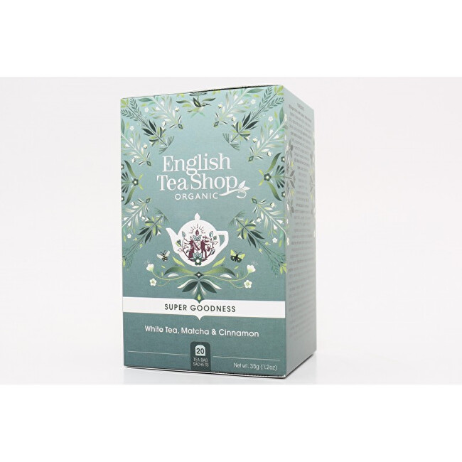 English Tea Shop Bílý čaj, matcha a skořice 20 sáčků