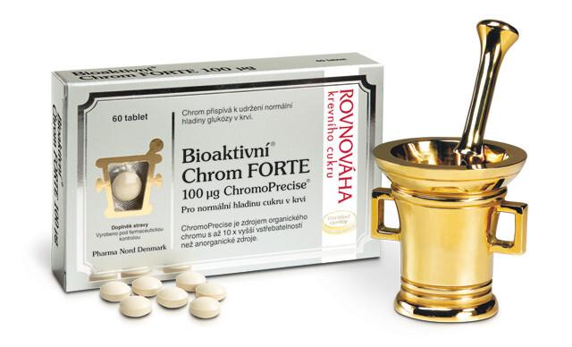 Zobrazit detail výrobku Pharma Nord Bioaktivní Chrom FORTE 100 mcg 60 tablet + 30 EXTRA