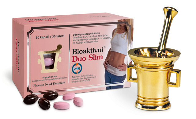 Pharma Nord Bioaktivní Duo Slim 30 tablet +60 tobolek