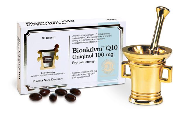 Pharma Nord Bioaktivní Q10 Uniqinol 100 mg 30 pastilek