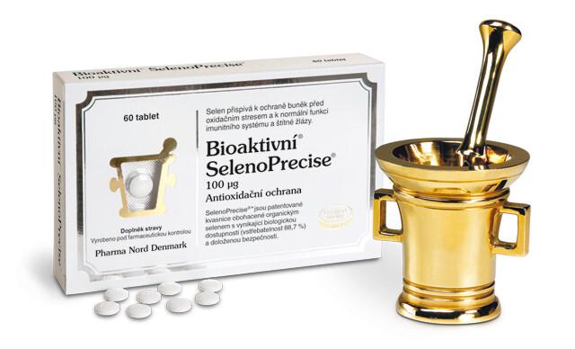 Zobrazit detail výrobku Pharma Nord Bioaktivní SelenoPrecise 100 mcg 60 tablet