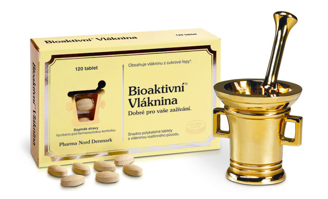 Pharma Nord Bioaktivní Vláknina 120 tablet