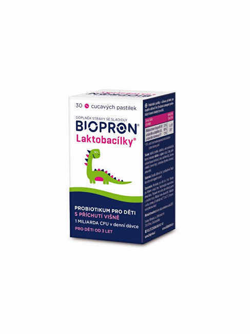 Zobrazit detail výrobku Biopron Biopron Laktobacílky 30 pastilek