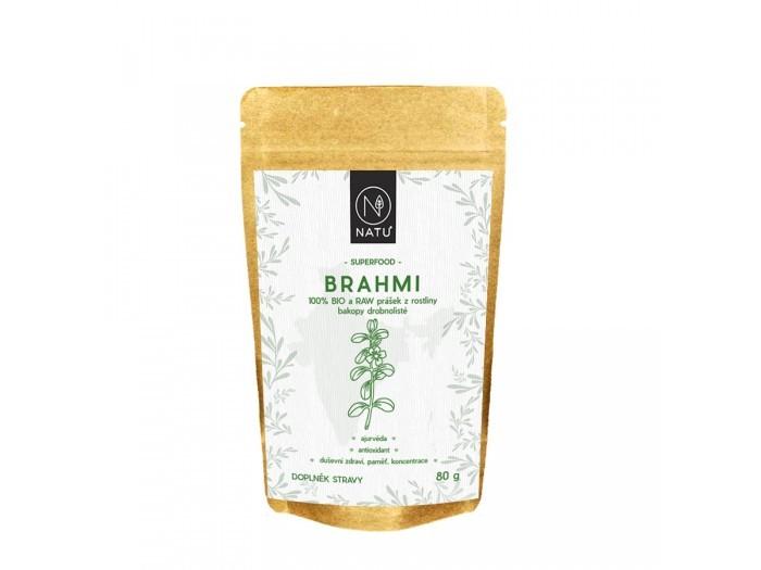 Brahmi BIO a RAW prášek 80 g