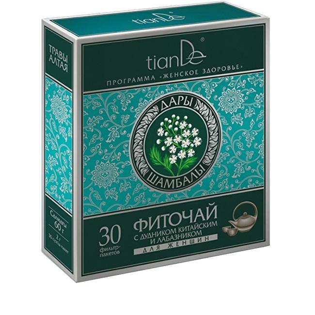 Zobrazit detail výrobku tianDe Bylinná směs s děhelem čínským a tužebníkem pro ženy 30 sáčků