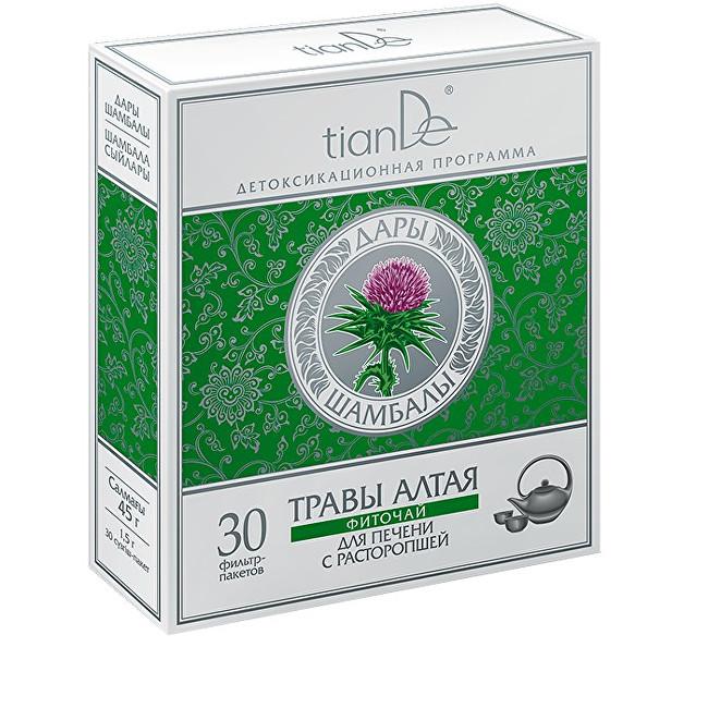 Zobrazit detail výrobku tianDe Bylinná směs s ostropestřcem mariánským 30 sáčků