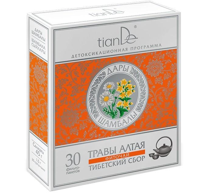 Zobrazit detail výrobku tianDe Bylinná směs Tibetský sběr 30 sáčků