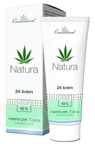 Zobrazit detail výrobku Cannaderm Cannaderm Natura 24 krém na mastnou pleť 75 g