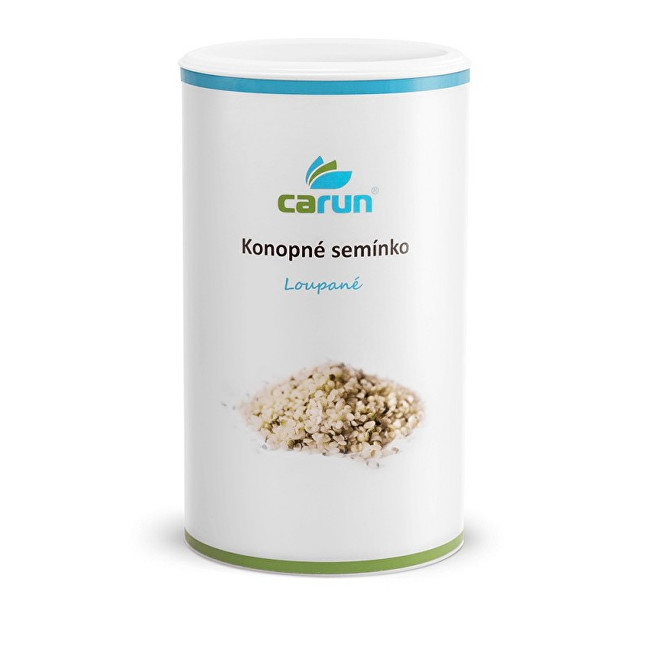 CARUN CARUN Konopné semínko loupané 500 g