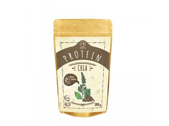Zobrazit detail výrobku Natu Chia protein BIO a RAW 200 g