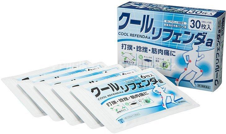 COOL REFENDA Chladivá gelová náplast Refenda 30 kusů
