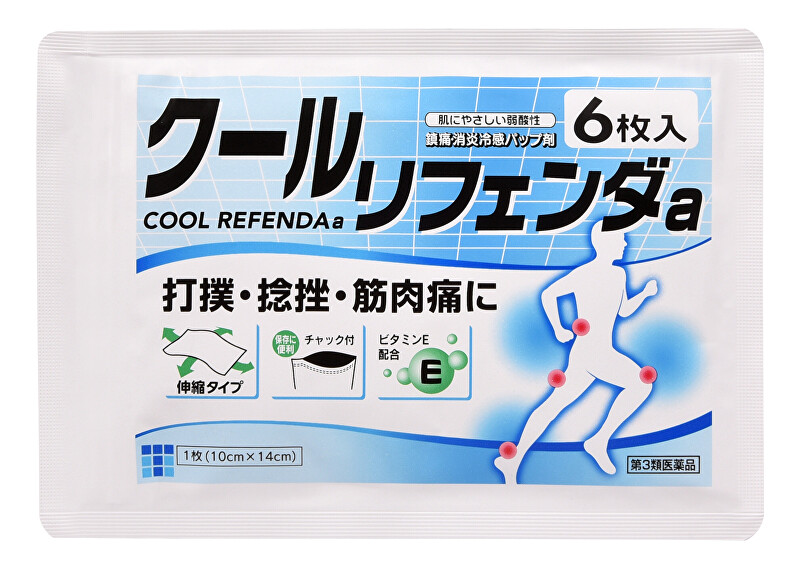 Zobrazit detail výrobku COOL REFENDA Chladivá gelová náplast Refenda 6 ks