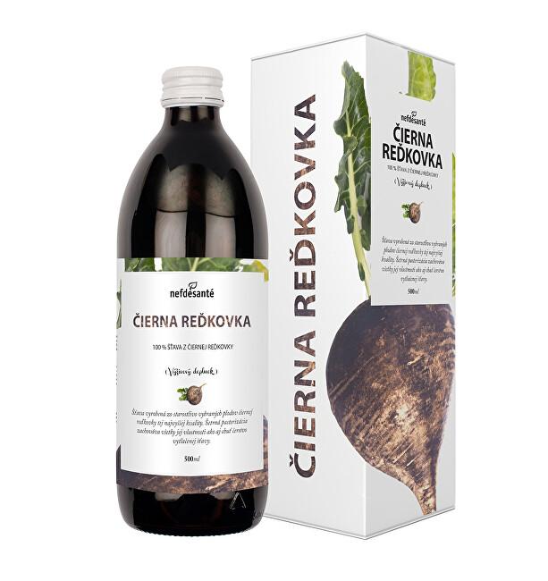 Nef de Santé Čierna reďkev - 100% pasterizované šťava z čiernej reďkovky 500 ml
