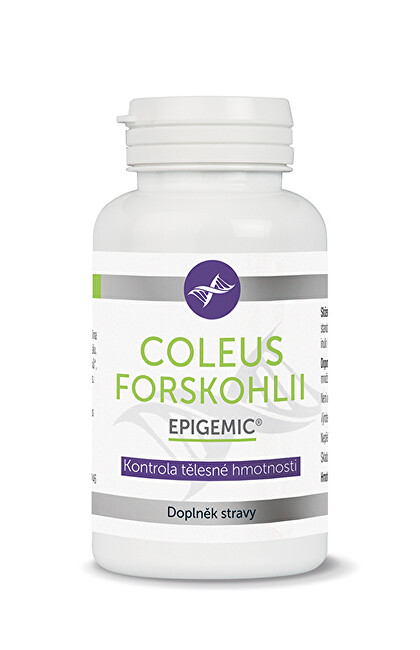 Epigemic Coleus forskohlii Epigemic 60 kapslí