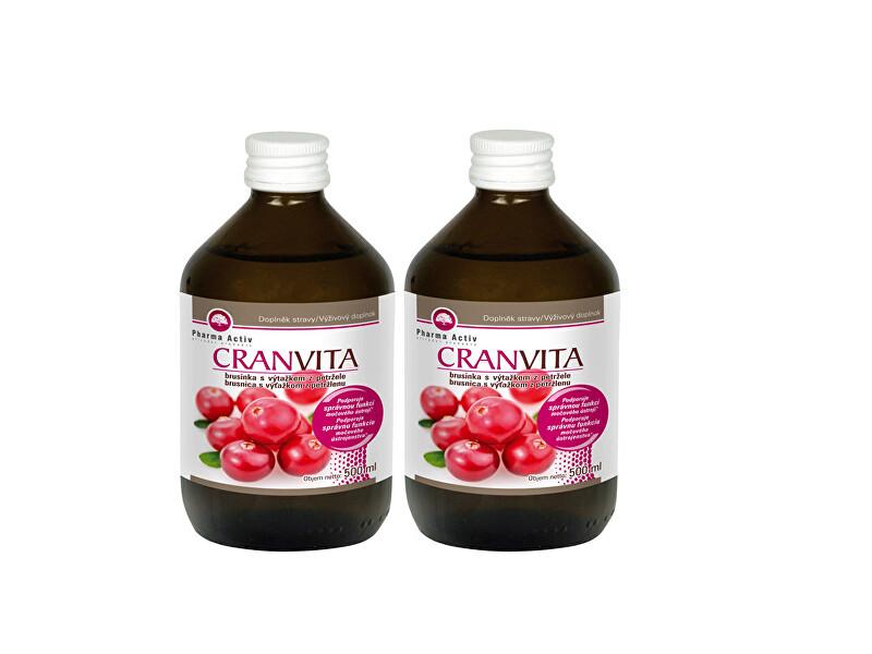 Zobrazit detail výrobku Pharma Activ Cranvita 500 ml 1+1 - SLEVA - bez krabičky