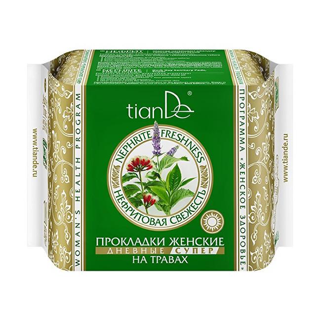 Zobrazit detail výrobku tianDe Dámské bylinné menstruační vložky Nefritová svěžest - denní super 10 ks