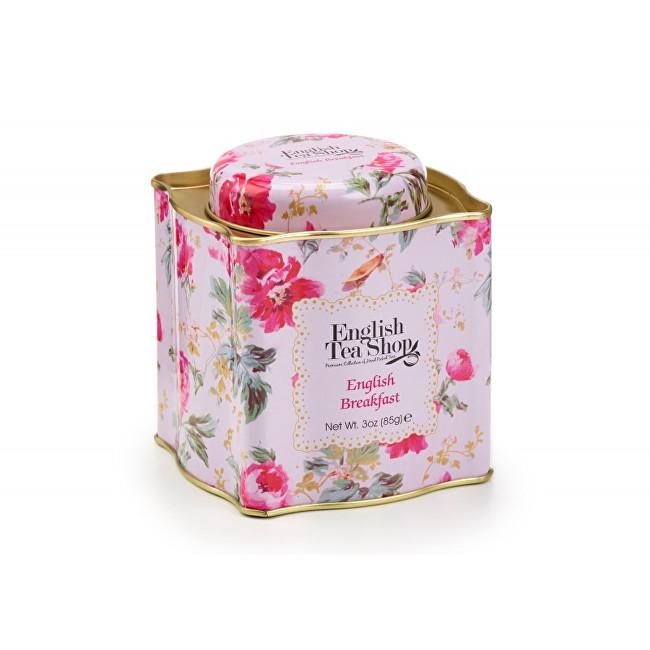 Zobrazit detail výrobku English Tea Shop Dárková plechovka sypaný čaj English Breakfast 85 g