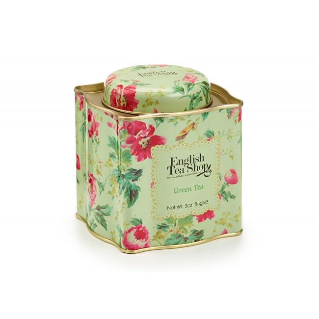 Zobrazit detail výrobku English Tea Shop Dárková plechovka sypaný čaj Zelený 85 g