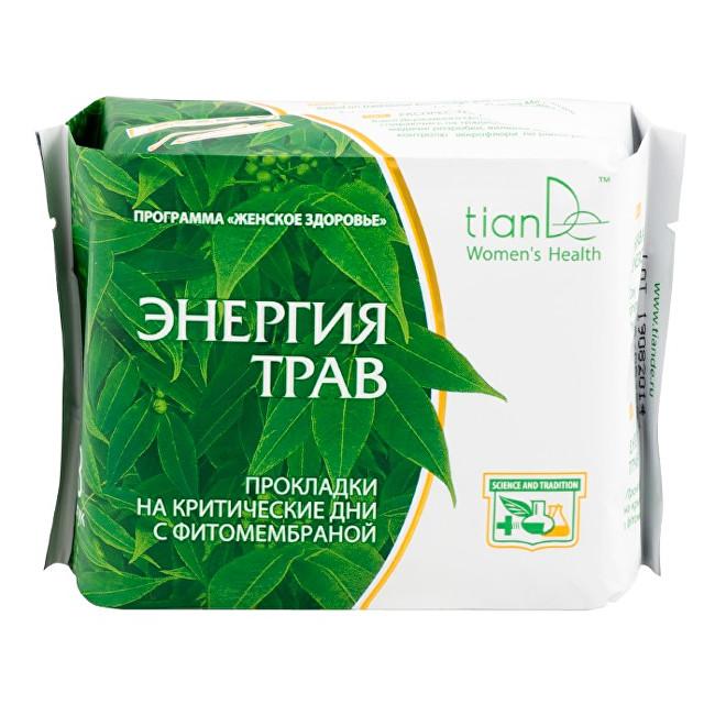 Zobrazit detail výrobku tianDe Denní menstruační vložky Energie bylin 8 ks