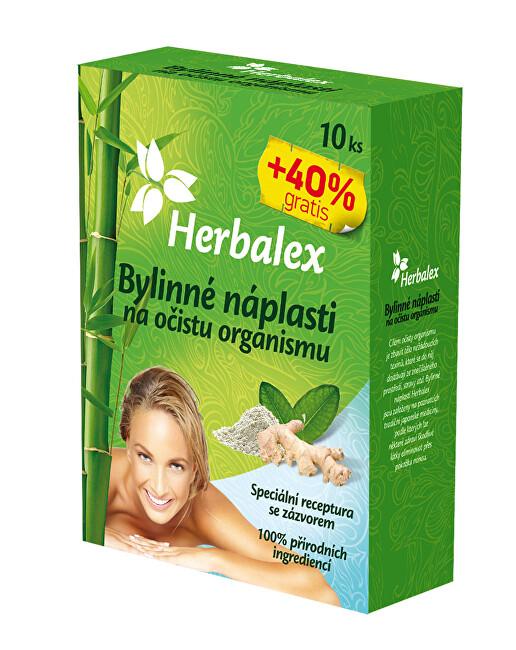Zobrazit detail výrobku Herbamedicus Detoxikační náplastí s konopím 10 ks + 40% GRATIS