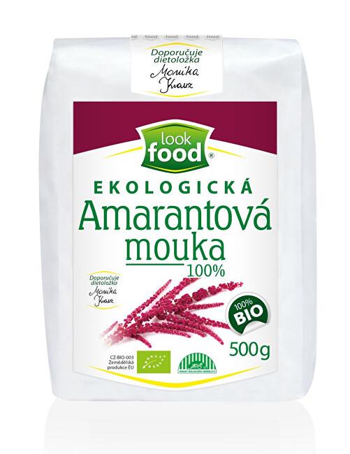 Zobrazit detail výrobku Look food s.r.o Ekologická amarantová mouka 100% 500 g BIO