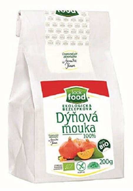 Zobrazit detail výrobku Look food s.r.o Ekologická bezlepková dýňová mouka 100% 200 g BIO