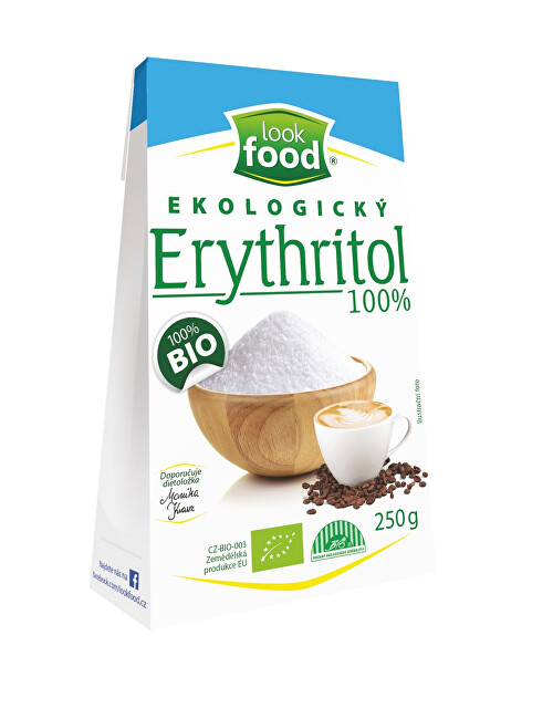 Look food s.r.o Erythritol 100% 250 g BIO