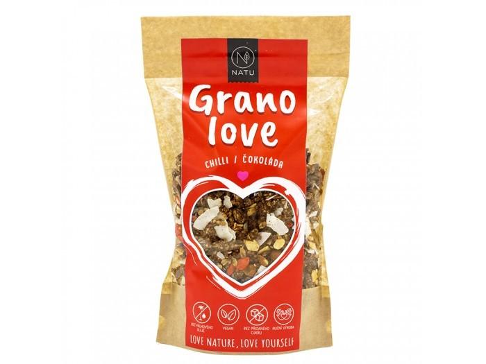 Zobrazit detail výrobku Natu Granolove Chilli Čokoláda 400 g