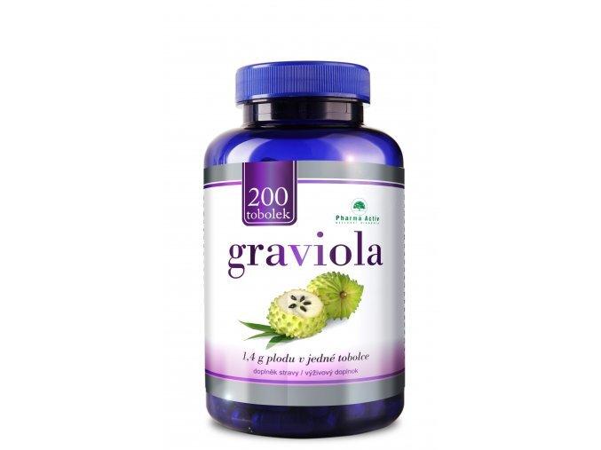 Zobrazit detail výrobku Pharma Activ Graviola 200 tobolek