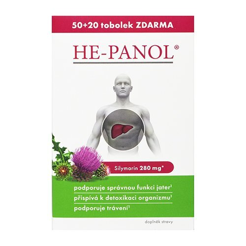 Zobrazit detail výrobku Simply You HE-PANOL 50 tablet + 20 ZDARMA