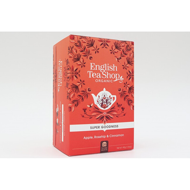 Zobrazit detail výrobku English Tea Shop Jablko, šípek a skořice 20 sáčků