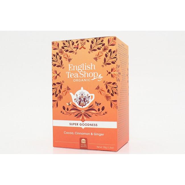 Zobrazit detail výrobku English Tea Shop Kakao, skořice a zázvor 20 sáčků