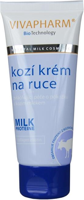 Zobrazit detail výrobku Vivapharm Krém na ruce s kozím mlékem v tubě 100 ml