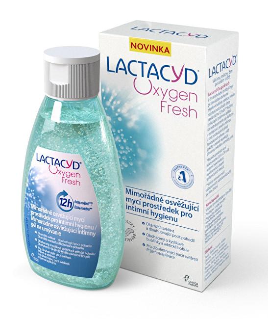 Lactacyd Oxygen Fresh - gel pro intimní hygienu 200 ml