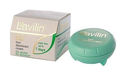 LAVILIN Deodorant – krém na chodidla (účinek 7 dní) 10 ml