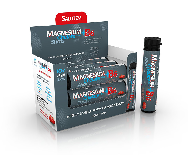 Magnesium Chelate 375 mg + B6 10 x 25 ml