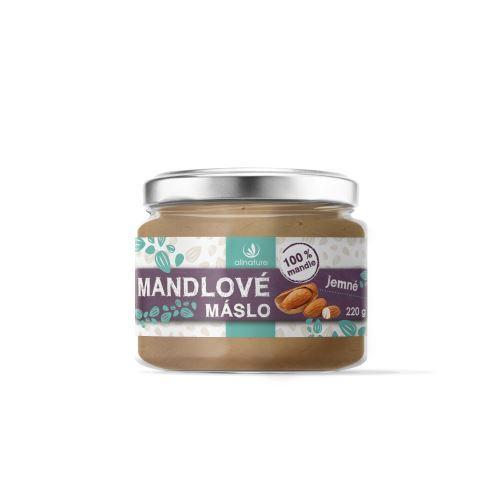 Zobrazit detail výrobku Allnature Mandlové máslo 220 g